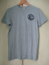 mens HOLLISTER GREY COTTON CREW NECK T SHIRT SIZE SMALL LOOSE FIT