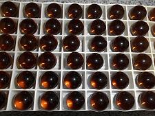 Swarovski vintage 12 gemmes (perles à sertir ) 12mm smoked topaz