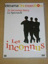DVD SPECTACLE / ZE INCONNUS STORY /LE SPECTACLE /CASINO DE PARIS 93 / COMME NEUF