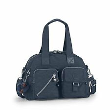 Kipling Defea Shoulder/Handbag Bag Holdall in True Blue RRP £79 CLEARANCE PRICE