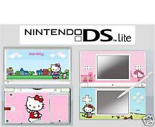DS LITE-Hello Kitty - 4 piece decal sticker SKIN UK /