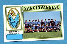 CALCIATORI PANINI 1976-77-Figurina-Sticker n. 567 - SANGIOVANNESE - C2B -Rec