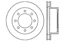 Disc Brake Rotor-High Performance Drilled And Slotted Centric 127.67046L