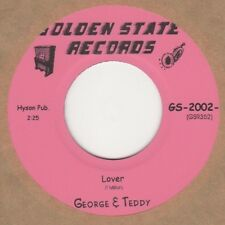 George & Teddy Lover Golden State Soul Northern Motown
