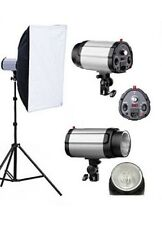 Photography Studio Strobe Flash Light Lighting Softbox Soft Box Stand Kit Local