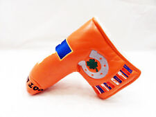 NEW TEXAS LUCKY HORSESHOE SHAMROCK LIMITED PUTTER HEAD COVER FOR SCOTTY CAMERON