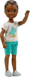 Barbie Club Chelsea Boy Doll, African American - NEW!