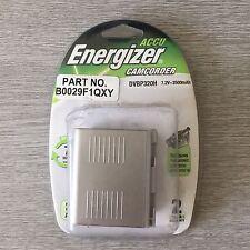 ENERGIZER RECHARGEABLE CAMCORDER BATTERY DVBP320H