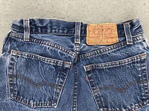 Vintage Levis 501 W26x L34