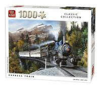 1000 Piece Classic Collection Jigsaw Puzzle - National Express Train Bridge 5878