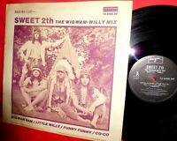 """SWEET 2th The wigwam-willy Mix 45rpm 12"""" LP 1974 UK EX+ First Pressing"""