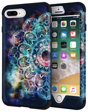 For iPhone7 Plus 8 Plus Case 360 Full Body Protective Cover Hybrid Dual Layer