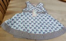 NEW BABY LOVELY   FLORAL GIRLS WRAP DRESS 6-9 MONTHS MOLLY N JACK FROM BOOTS