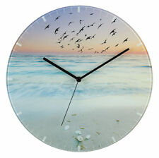 Analog Wall Clock TFA 60.3042.90 Design Glass 300 mm can be customized