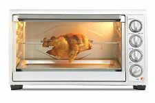 45l Kitchen Convection Oven Cooker Baking Rack Bake Roast Grill Baking Timer NEW