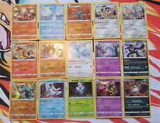 15 Pokemon Holo Holographic Cards Pack Fresh Near Mint/Mint Promo Zacian + more