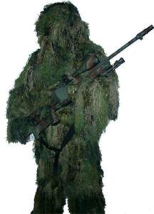 Ghillie Suit Sniper Scharfschütze Tarnanzug woodland desert snow night camo