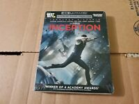 Inception: SOLD OUT Steelbook Edition w/J-Card (4K Ultra HD & Blu-ray) No Code
