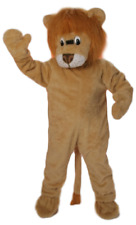 Mens Ladies Adults Circus Themed Lion Animal Zoo Mascot Fancy Dress Costume