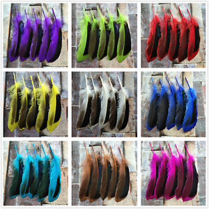 Wholesale 20-100pcs Natural Mallard Feathers 4-6inches/10-15cm For Decoration