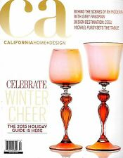 CA California Home & Design Magazine Winter 2015 The Holiday Guide, Winter Cheer