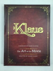 Klaus: The Art of the Movie. Hardcover Animation Book 1st Printing. Mint Sealed!