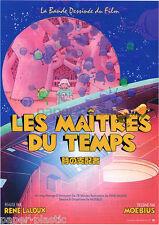 LES MAITRES DU TEMPS / TIME MASTERS Rene Laloux Moebius anime movie flyer Japan