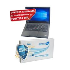 "COMPUTER NOTEBOOK LENOVO T440 i5 4300U 14"" RAM 4GB HDD 320GB GRADO B PER P.IVA-"