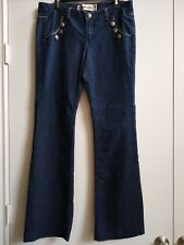 Women's Boom Boom Jeans Sailor Pin Up Flares Size 13