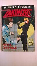 il giallo a fumetti ZAKIMORT SFIDA MORTALE - OTTOBRE 1965