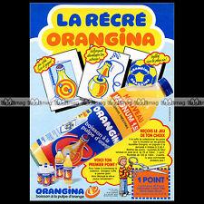 ORANGINA 'La récré' - 1984 Pub / Publicité / Ad #A379