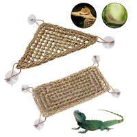 Mat Dragon Platform Basking Hammock Reptile Lounger Rat Braided Lizard Iguana