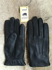 Peccary Leather Gloves Men's Unlined All Size's Winter Gloves