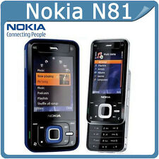 Classic Business Nokia N Series N81 - Black (Unlocked) Smartphone WIFI 3G