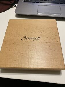 Screwpull Brand Sommelier 3 Piece Wine Set in Wood Box Free Shipping-EUC