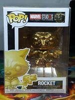 Marvel Studios Rocket Pop #420 Bobble-Head Figure Funko Aus Seller