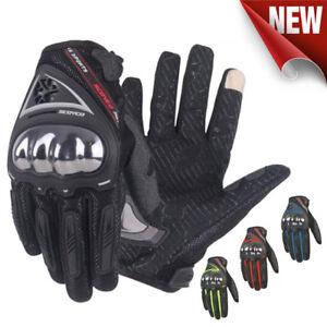 Touch screen Motorcycle Gloves Street Racing Motorbike Gloves Bike  Scoyco MC44