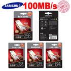 Genuine 64GB, 128GB, 32GB, 256GB SAMSUNG EVO PLUS Micro SD Memory Card 100MB/s