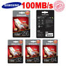 Genuine 	64GB, 128GB, 32GB, 256GB SAMSUNG EVO PLUS Micro SD Memory Card 100MB/s