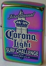 Zippo Lighter Corona Light First Annual Surf Challenge Very RARE 2003 Vintage