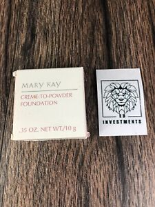 MARY KAY Creme To Powder Foundation ~ BRONZE 0.5 #5486 ~ RARE ~ Ships FREE