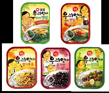Sempio Korean Food Instant Side Dishes Mix & Match 5 Kinds, 2 each total 10