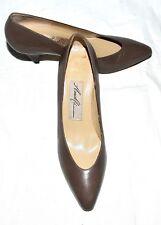 Amalfi Monica Mystic Taupe Tuscan Leather Pumps Size 5 AA Italy MSRP $104 NIB