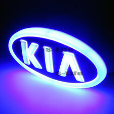 LED Car 4D Tail Front Logo Illuminated Grille Emblem Light For Kia CERATO  Forte