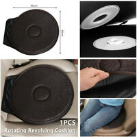 Universal Car SUV Seat Rotating Revolving Cushion Memory Swivel Foam Aid Pad 1PC