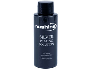 NUSHINE SILVER PLATING SOLUTION -PLATE METALS WITH REAL SILVER