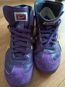 Onitsuka Tiger MEXICO Mid Runner Purple/Yellow THL328 from Japan asics JP - Used
