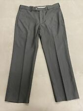 NWT Perry Ellis Portfolio Black Travel Luxe Classic Fit Pants Size 38x30 Charity