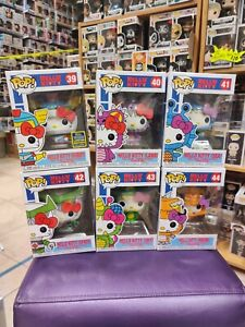 Funko Pop! Sanrio Hello Kitty Kaiju Set Of 6 Limited Summer Convention MINT