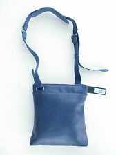 MARC BY MARC JACOB Big N' Boss Flat Messenger Bag Mineral Blue M0003180 NWT/$348